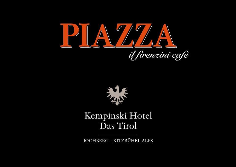 PIAZZA il firenzini café Kempinski Hotel Das Tirol