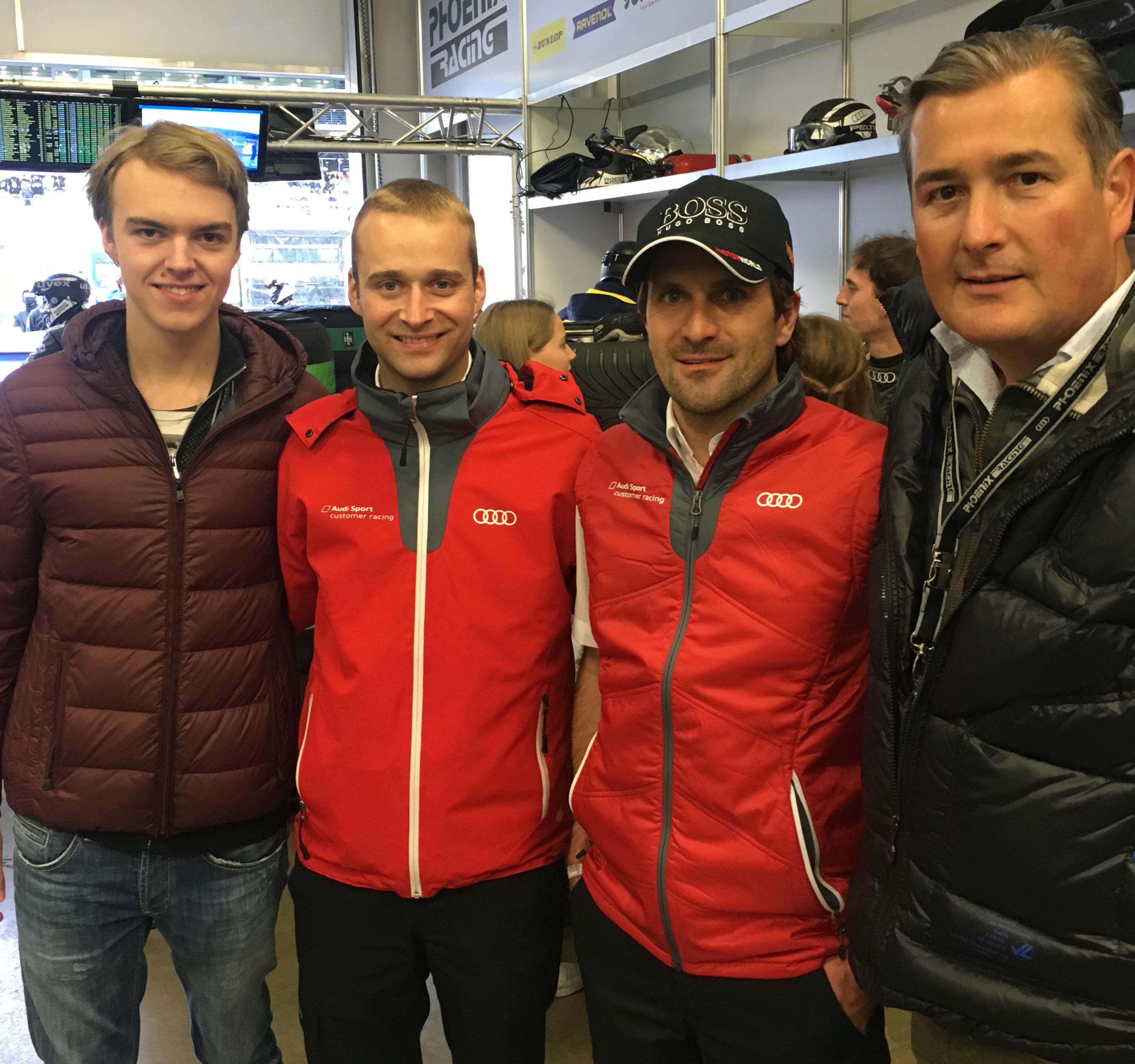 Volker und Philipp Zeh mit Winkelhock-Team