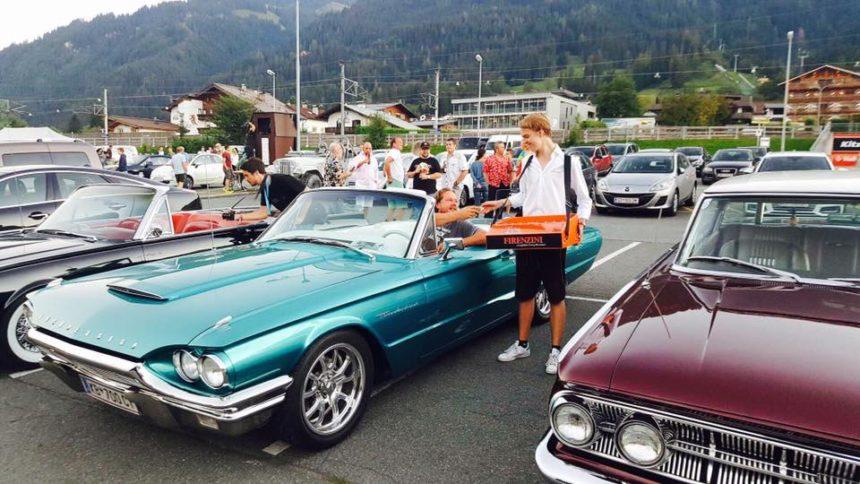 FIRENZINI beim Autokino des Filmfestival Kitzbühel
