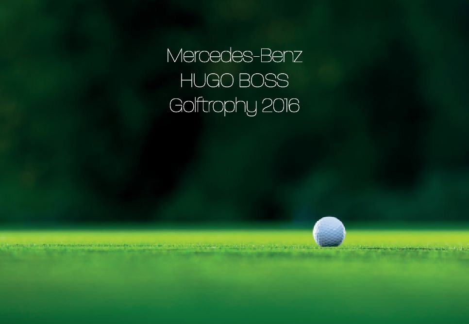 Mercedes-Benz HUGO BOSS Golftrophy mit Firenzini