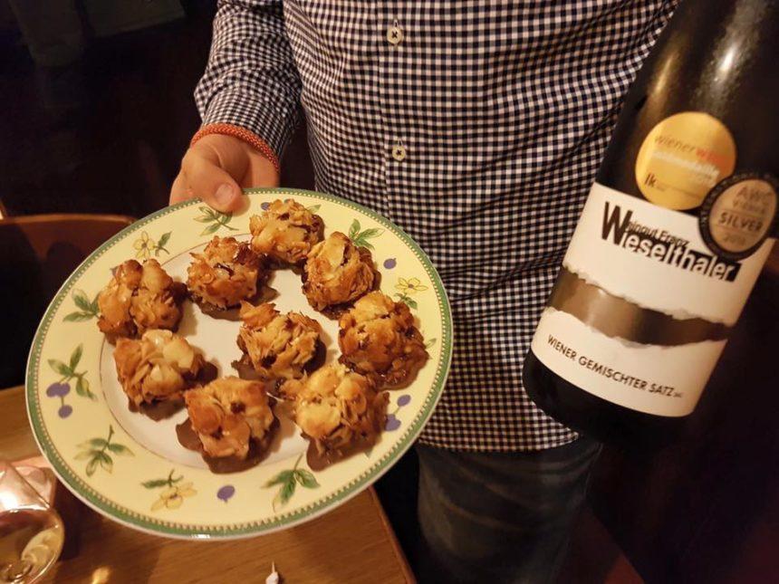 Nachtisch im Weingut Franz Wieselthaler!